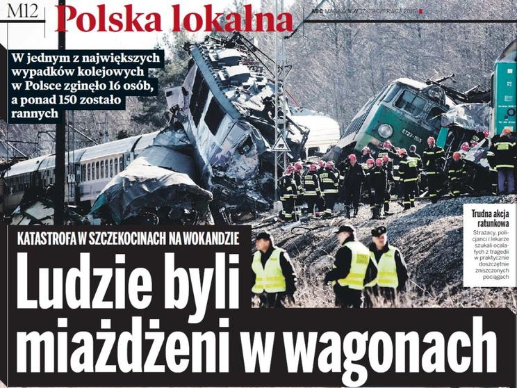 Katastrofa w Szczekocinach /ABC