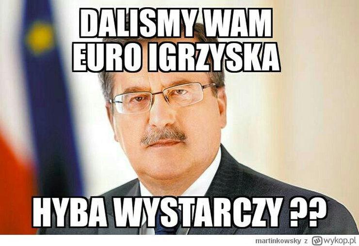 Memy z Bronisławem Komorowskim