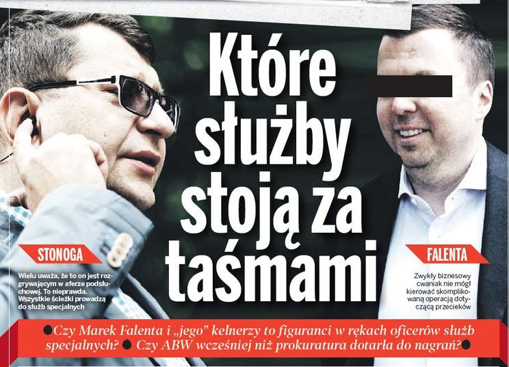 Zbigniew Stonoga i Marek F. /ABC