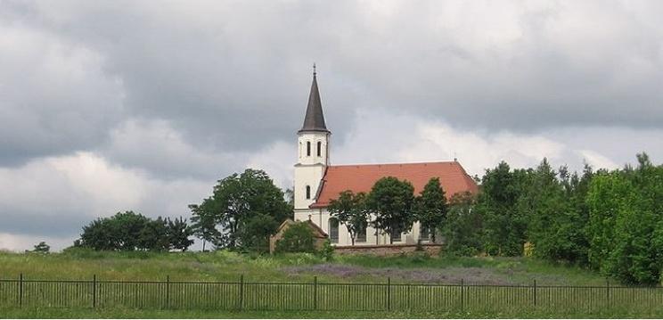 Kościół św. Michała Archanioła i Wniebowzięcia NMP w Poznaniu-Kiekrzu Fot.Aftoine/GFDL/ Creative Commons Attribution-Share Alike 3.0 Unported