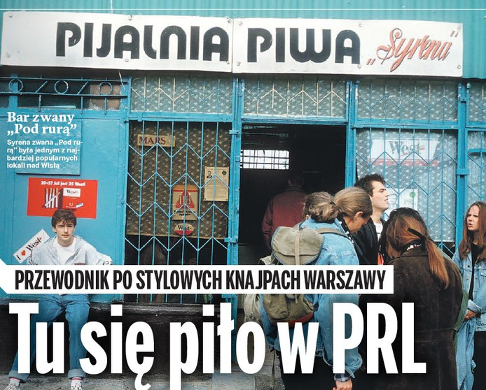 Pijalnia z czasów PRL /ABC
