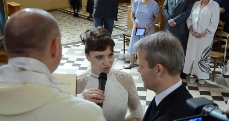 Ślub Ewy Stankiewicz